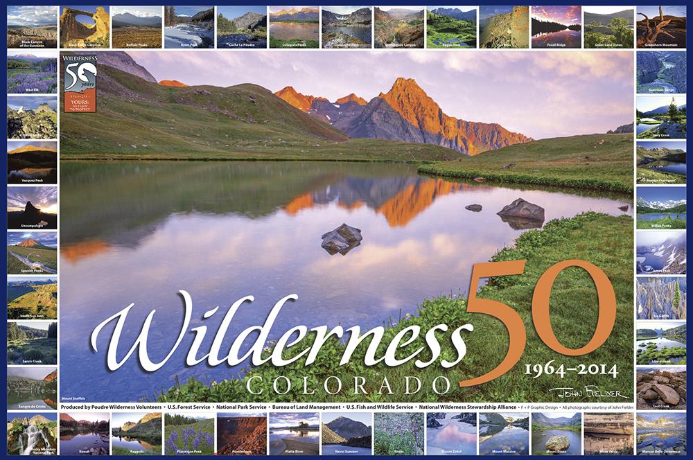 Colorado Wilderness 50 poster sm